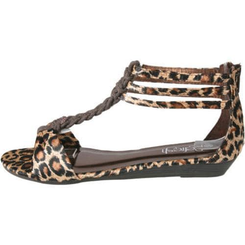 Women's Beston Ashanti-01 Leopard - Thumbnail 2