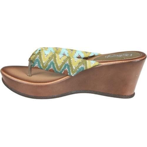 Women's Beston Summer-04 Green - Thumbnail 2