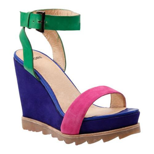Women's Bronx Lots Of Fun Fuchsia/Glover Suede
