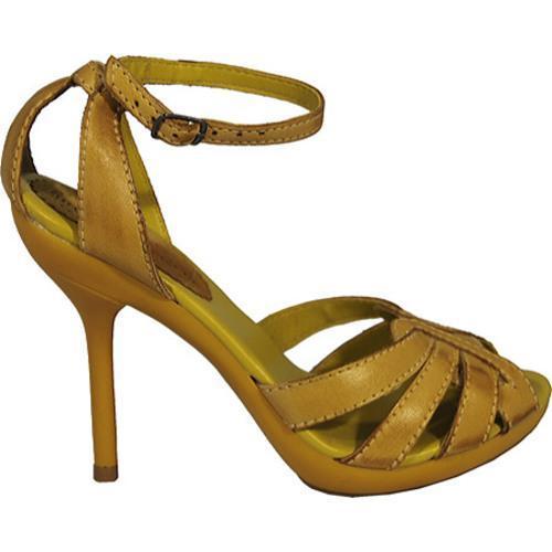 Women's Bruno Menegatti 29502 Yellow - Thumbnail 1