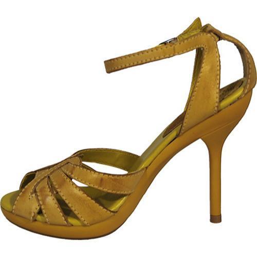 Women's Bruno Menegatti 29502 Yellow - Thumbnail 2