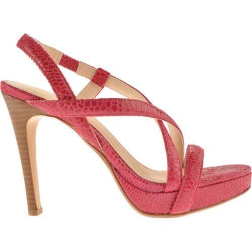 Women's Calvin Klein Prarie Bright Pink Honeycomb Print - Thumbnail 1