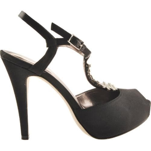 Women's Calvin Klein Pretty Black Satin - Thumbnail 1
