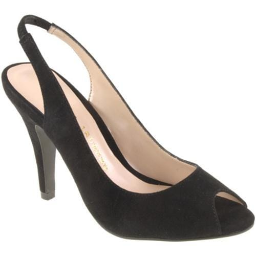 Women's Chinese Laundry Cupcakes Black Kid Suede