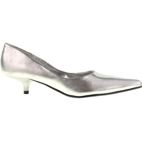 Women's Chinese Laundry Giggle Silver Grainy Shimmer - Thumbnail 1