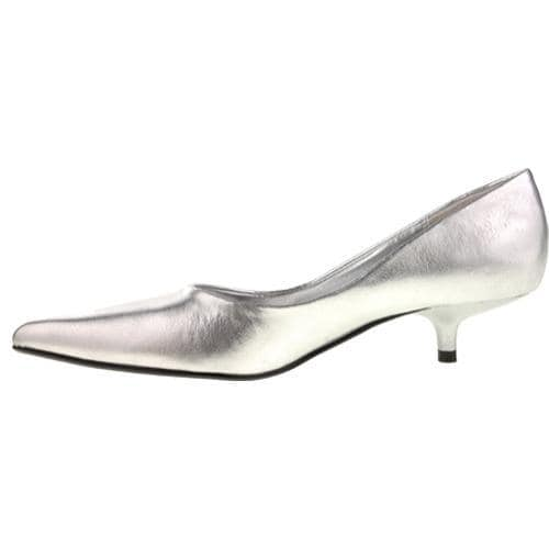 Women's Chinese Laundry Giggle Silver Grainy Shimmer - Thumbnail 2