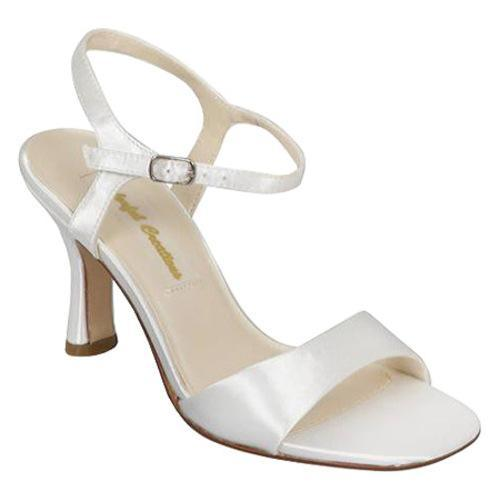 Women's Colorful Creations Joan 74730 White Satin