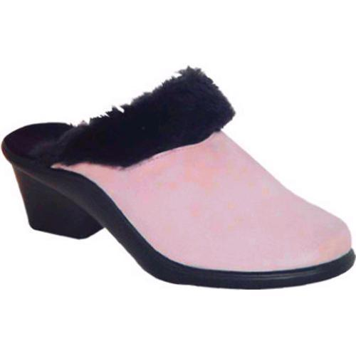 Women's Curvetures Kathy 606 Powder Pink Deerskin