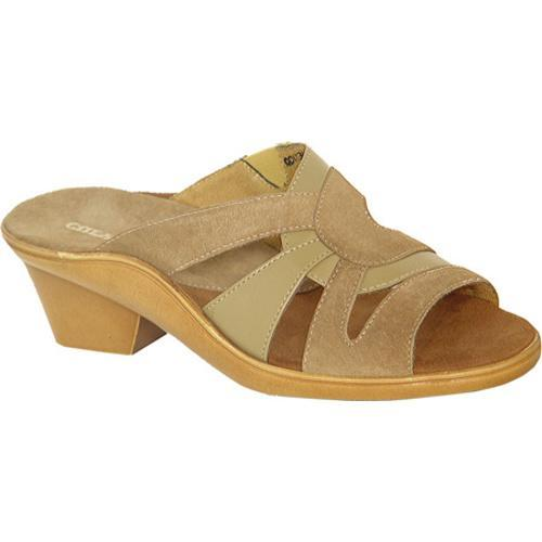 Women's Curvetures Vicki 755 Sand Suede