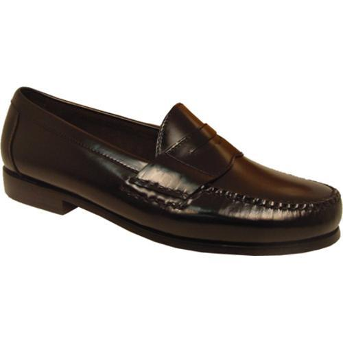 Men's David Spencer Lorenzo Black Polished Calf