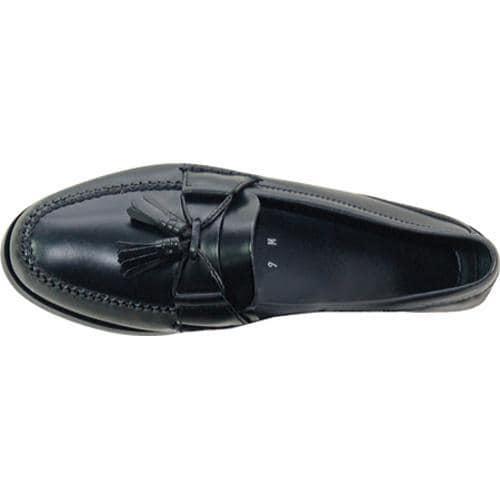 Men's David Spencer Romeo Black Leather - Thumbnail 1