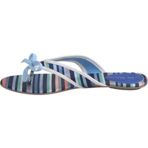 Women's Da Viccino Susan Blue Stripe Silk