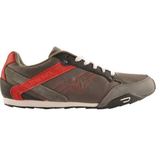 Men's Diesel Long Term Eagle Loop Gunmetal/True Red