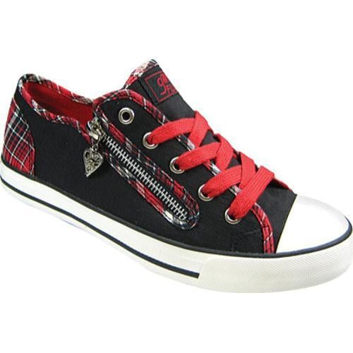 Women's Gotta Flurt Elwood Red Plaid Textile