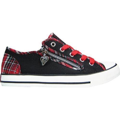 Women's Gotta Flurt Elwood Red Plaid Textile - Thumbnail 1