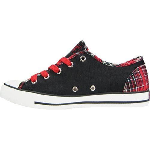 Women's Gotta Flurt Elwood Red Plaid Textile - Thumbnail 2