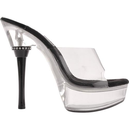 Women's Highest Heel Rod Black Heel - Thumbnail 1