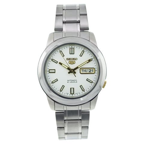 Seiko Men's SNKK09K1 '5' Automatic Stainless Steel Watch