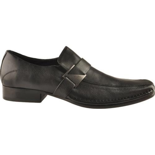 Men's Kenneth Cole New York Run Around Black Leather - Thumbnail 0