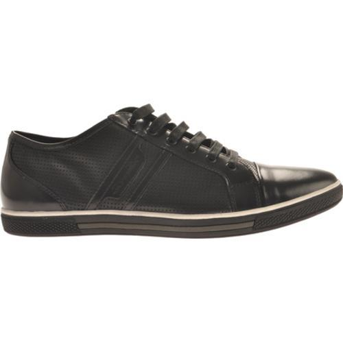 Men's Kenneth Cole New York Down N Up Black Leather - Thumbnail 1