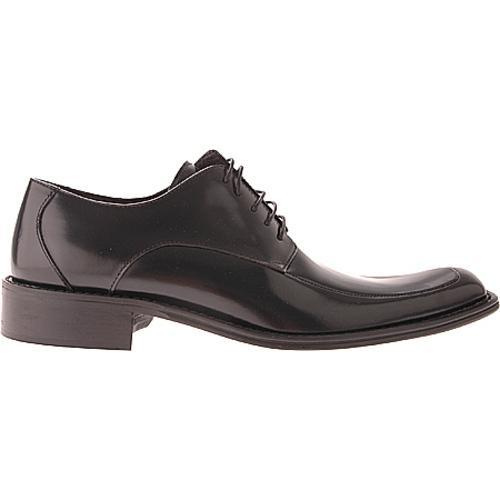 Men's Kenneth Cole New York Town Hall Black Leather - Thumbnail 1
