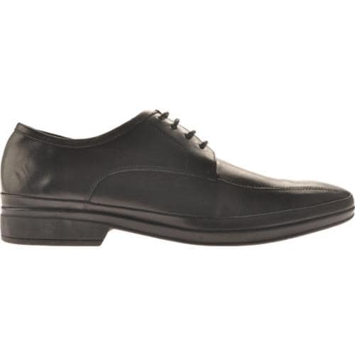 Men's Kenneth Cole Reaction Be Our Guest Black Leather - Thumbnail 1
