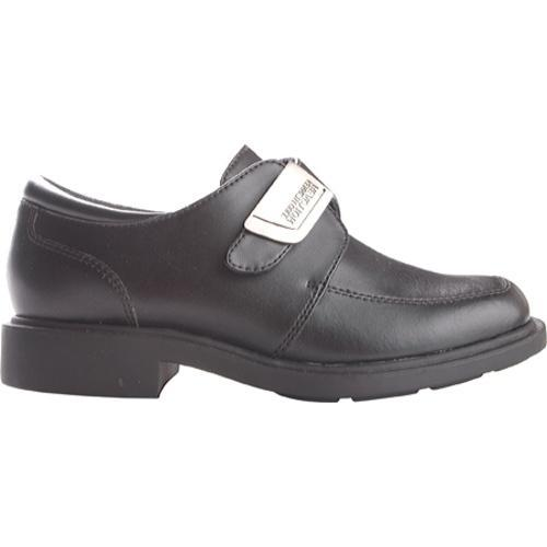 Boys' Kenneth Cole Reaction Fast Cash 2 Black Box Leather - Thumbnail 1