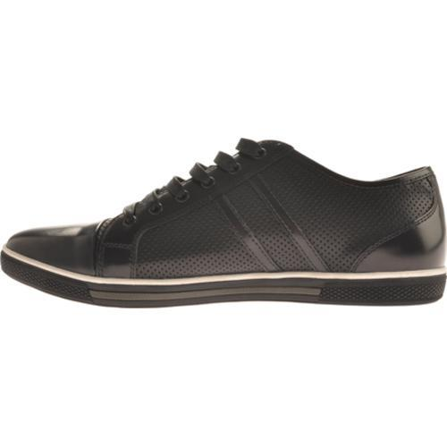 Men's Kenneth Cole New York Down N Up Black Leather - Thumbnail 2