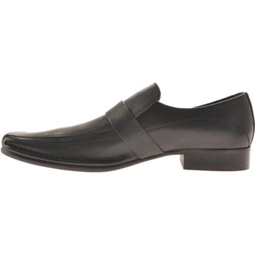 Men's Kenneth Cole New York Run Around Black Leather - Thumbnail 2