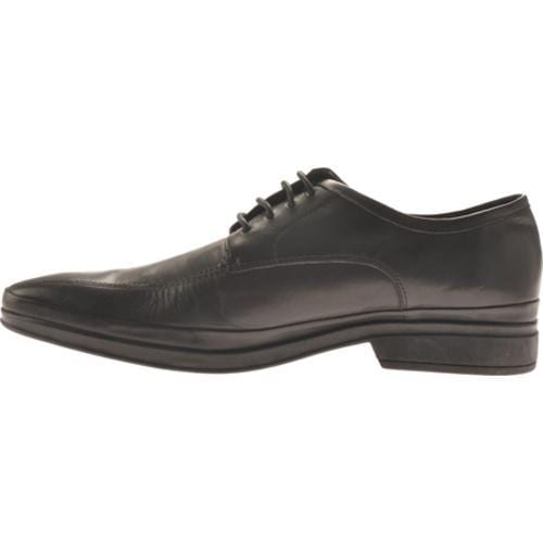 Men's Kenneth Cole Reaction Be Our Guest Black Leather - Thumbnail 2
