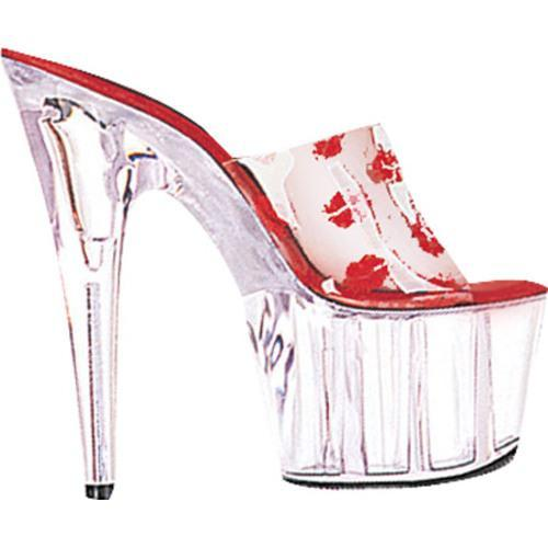 Women's Lucious C Stage 701RL Clear/Red Lips/Clear