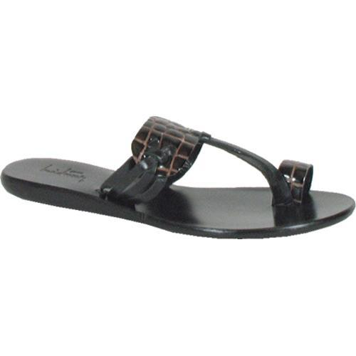 Women's Luichiny Saw See Black Print/Leather