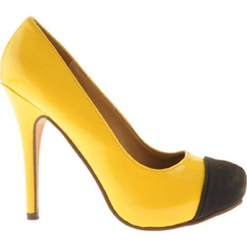 Women's Michael Antonio Louie Yellow/Black