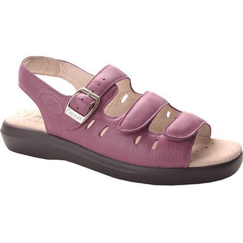 Women's Propet Breeze Walker Purple Smooth