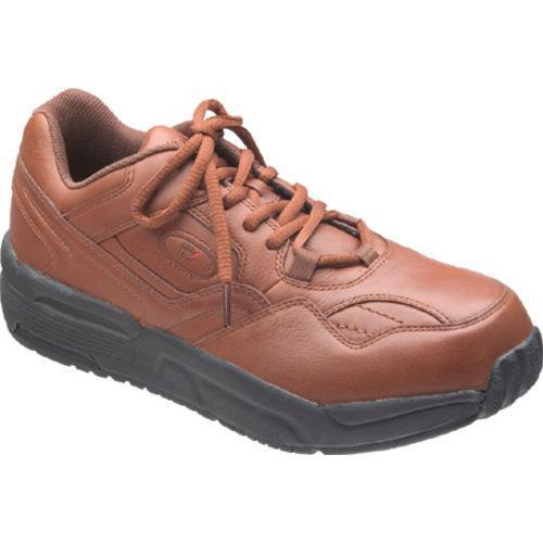 Men's Propet PedWalker 1 Nut Brown Leather
