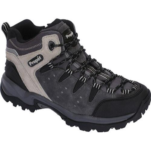 Men's Propet Summit Walker Dark Grey/Light Grey