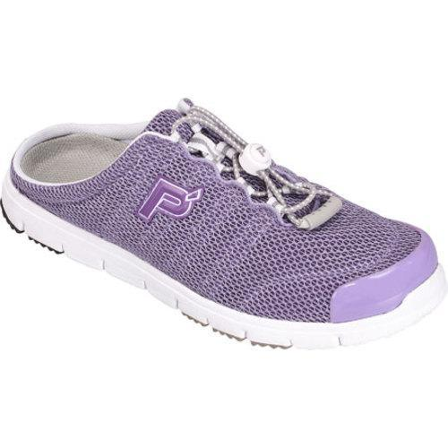 Women's Propet Travel Walker Slide Lilac Mesh