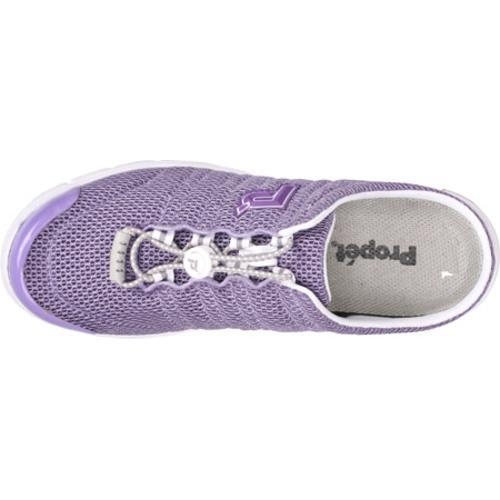 Women's Propet Travel Walker Slide Lilac Mesh - Thumbnail 2
