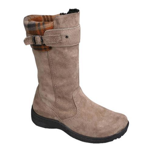 Women's Propet Vail Classic Taupe/Brown Plaid