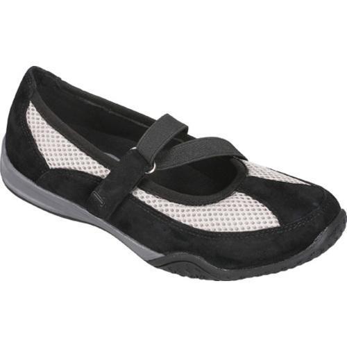 Women's Propet Zigzag Black/Pebble Grey