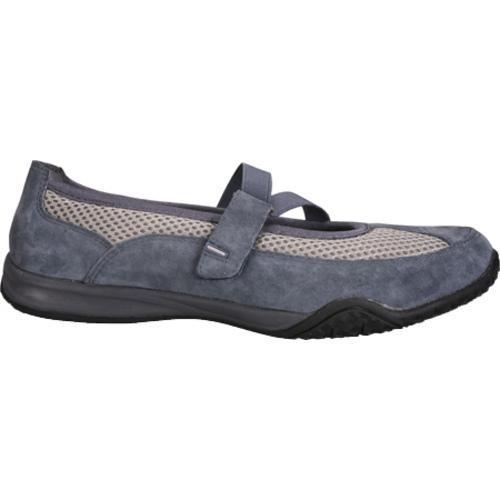 Women's Propet Zigzag Denim Blue/Pebble Grey
