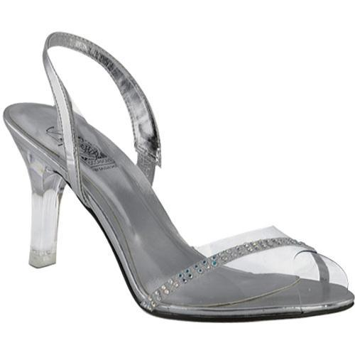 Women's Special Occasions Blanca Clear/Silver