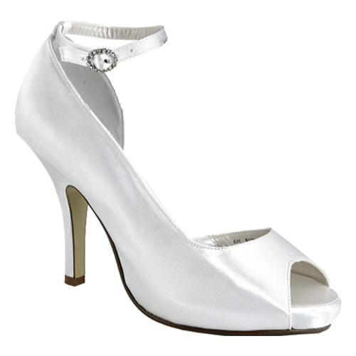 Women's Special Occasions Gwen White Satin