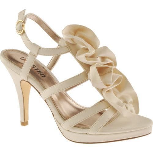 Women's Unlisted by Kenneth Cole All Natural Ivory Wet Satin