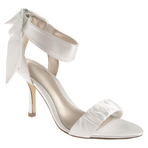 Women's Unlisted by Kenneth Cole TV List White New Metallic Satin