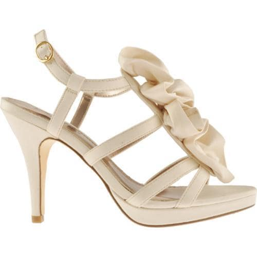 Women's Unlisted by Kenneth Cole All Natural Ivory Wet Satin - Thumbnail 1