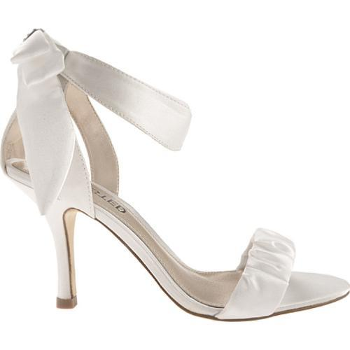 Women's Unlisted by Kenneth Cole TV List White New Metallic Satin - Thumbnail 1