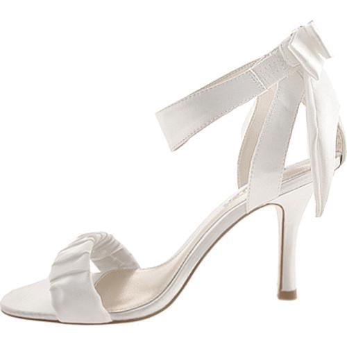 Women's Unlisted by Kenneth Cole TV List White New Metallic Satin - Thumbnail 2