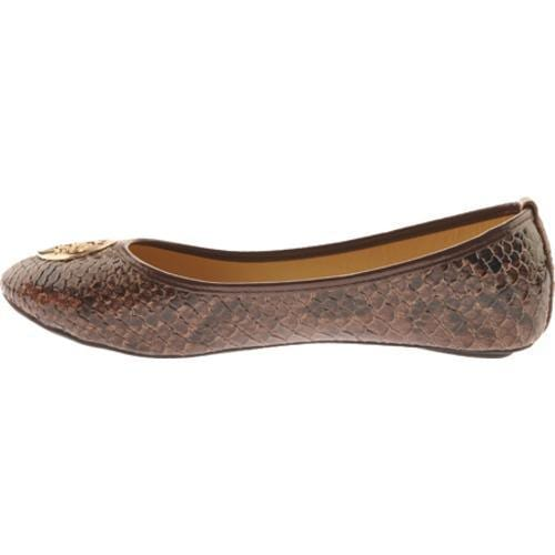 Women's Vecceli Italy BF-102 Brown Compressed Leather
