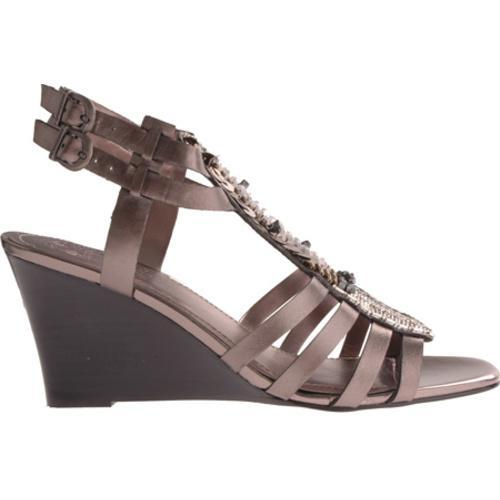 Women's Vince Camuto Brianne Gunmetal Metallic Leather - Thumbnail 1